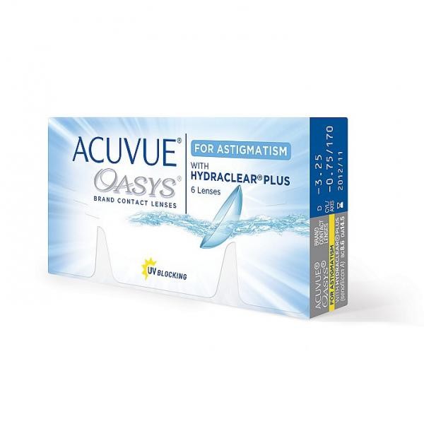 Контактные линзы Acuvue Oasys for Astigmattism