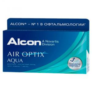 Контактные линзы Air Optix Aqua 3 шт.