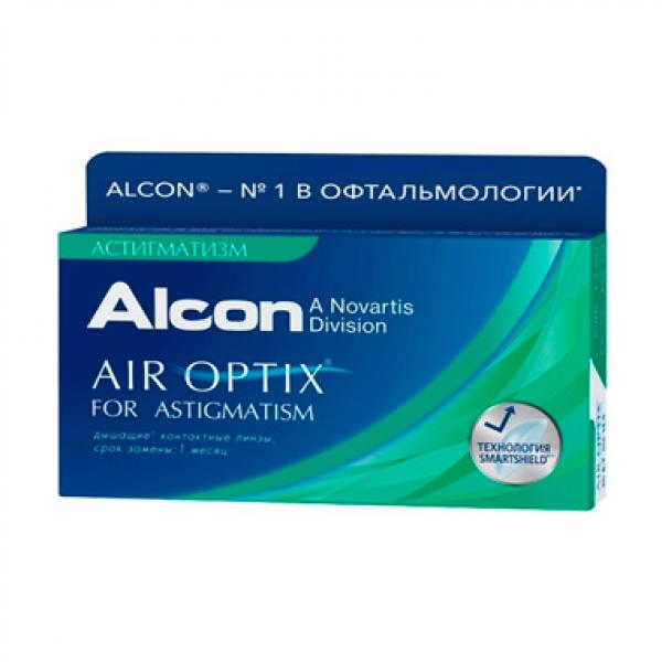 Контактные линзы Air Optix for astigmatism