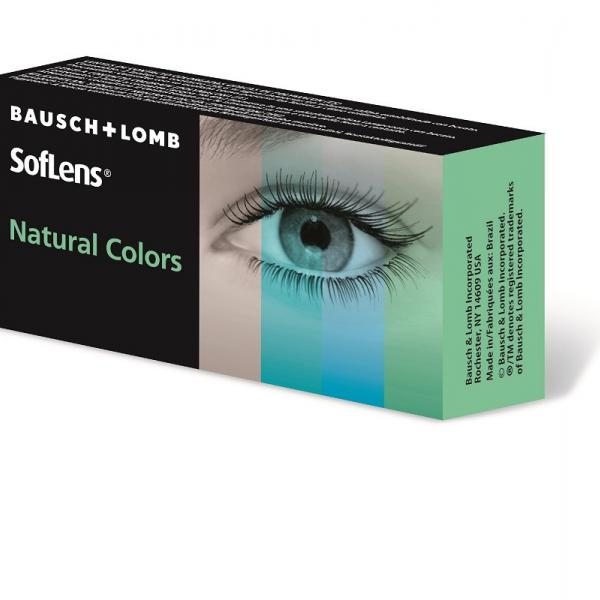 Контактные линзы SofLens Natural Colours (2 линзы) ( на месяц)